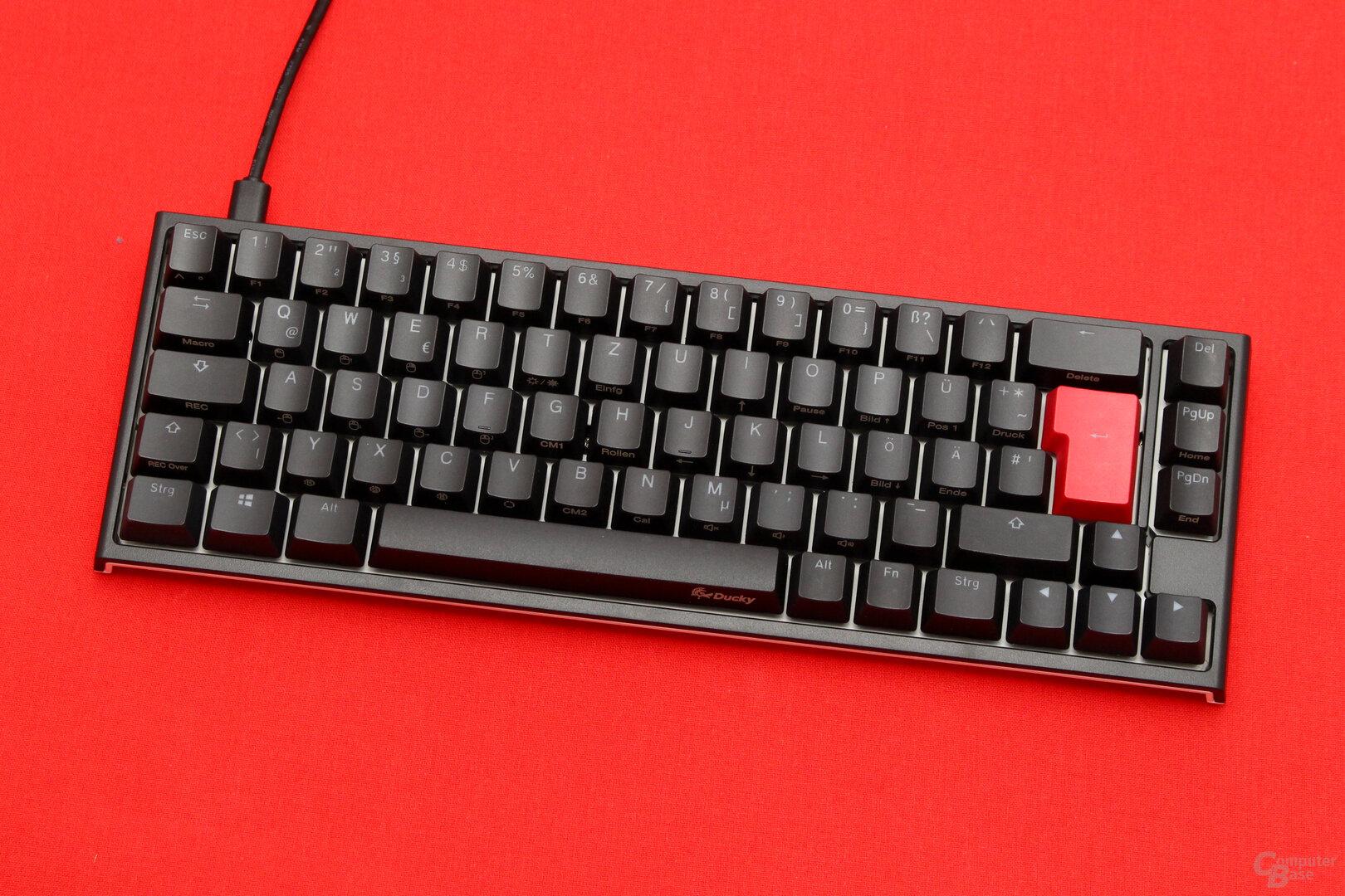"""Ducky erweitert das """"Hacker""""-Layout um häufig genutzte Standardtasten"""