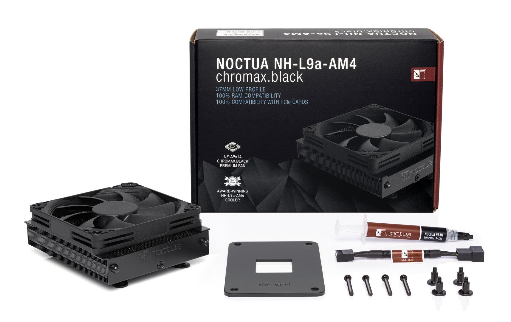 Noctua NH-L9a-AM4 chromax.black