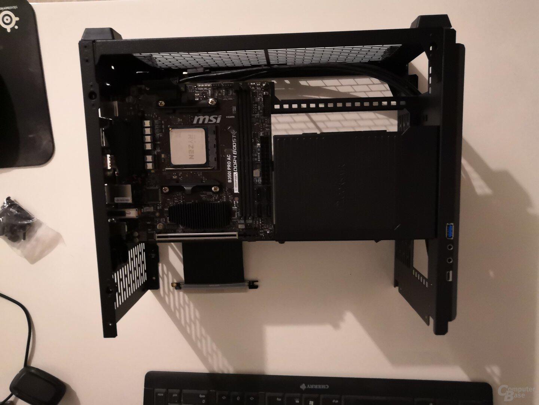 Hardware zur Hälfte installiert 2