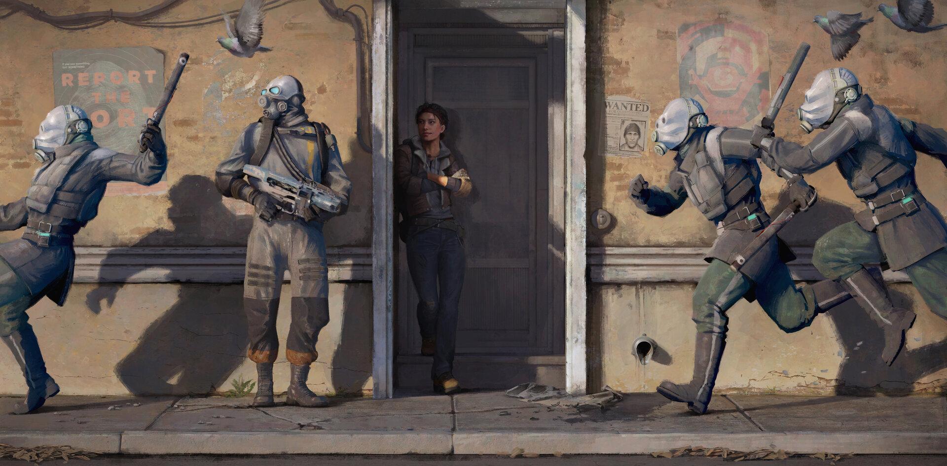 Die Combine kehre in Half-Life: Alyx zurück