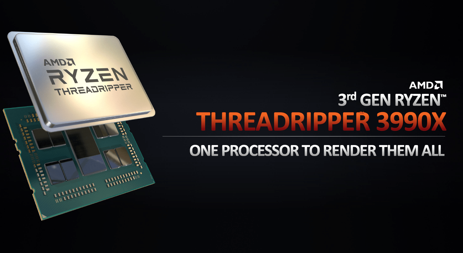 AMD bewirbt die CPU als die beste Render-Lösung