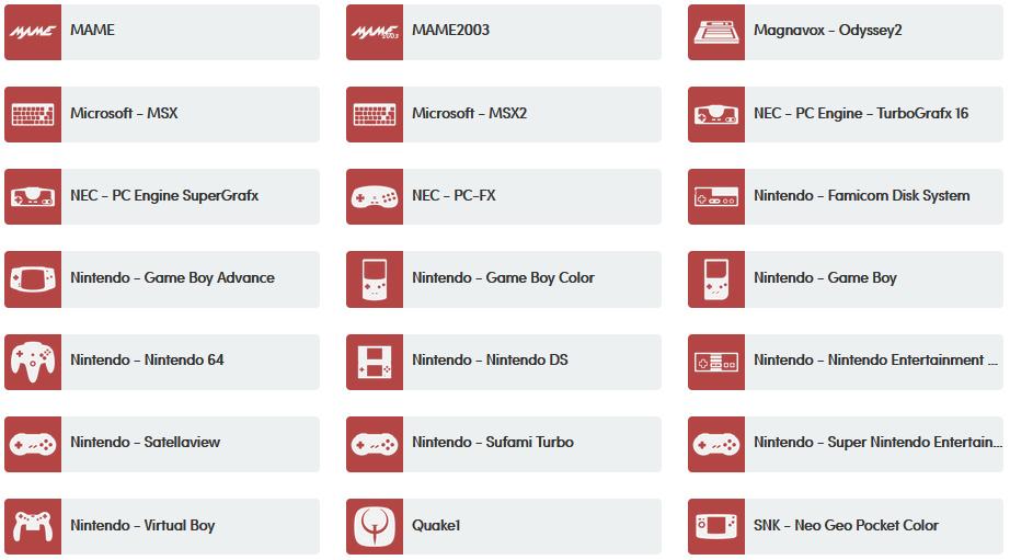 Lakka 2.3.2 realisiert mit Hilfe von RetroArch 1.8.4 über 50 Plattformen auf einem System