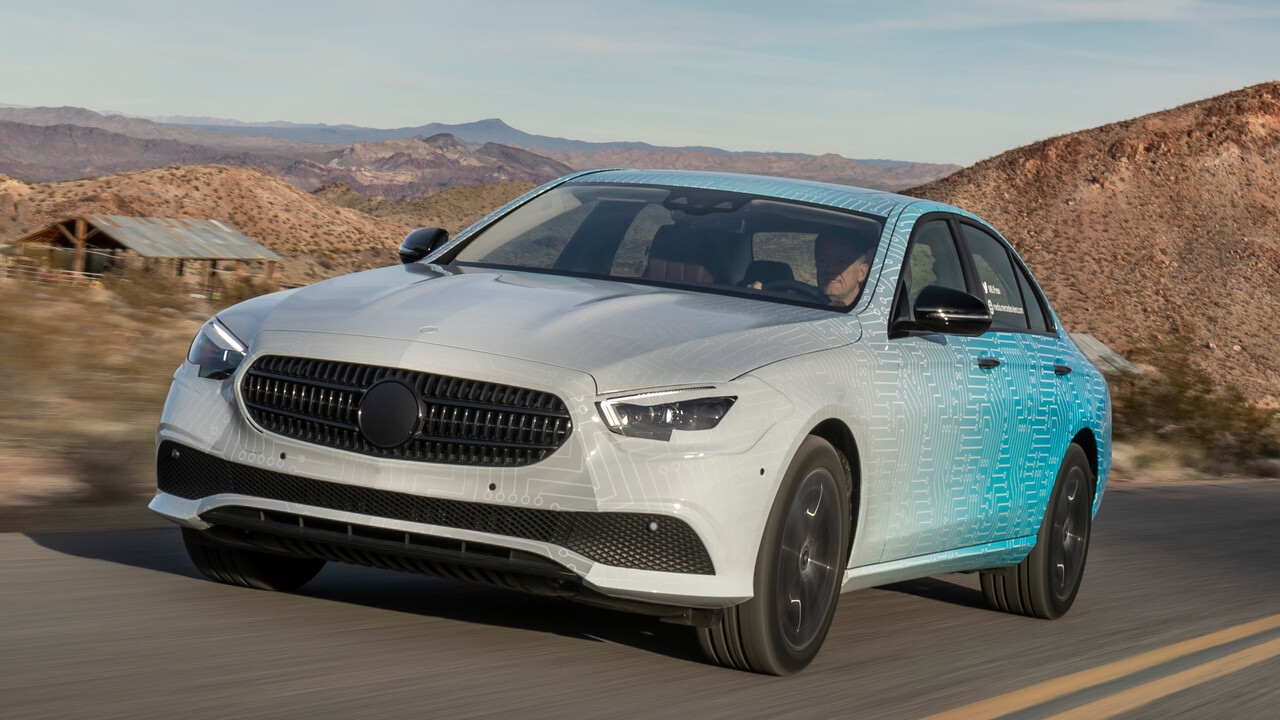 Mercedes-Benz: E-Klasse erhält MBUX zur Modellpflege im Sommer