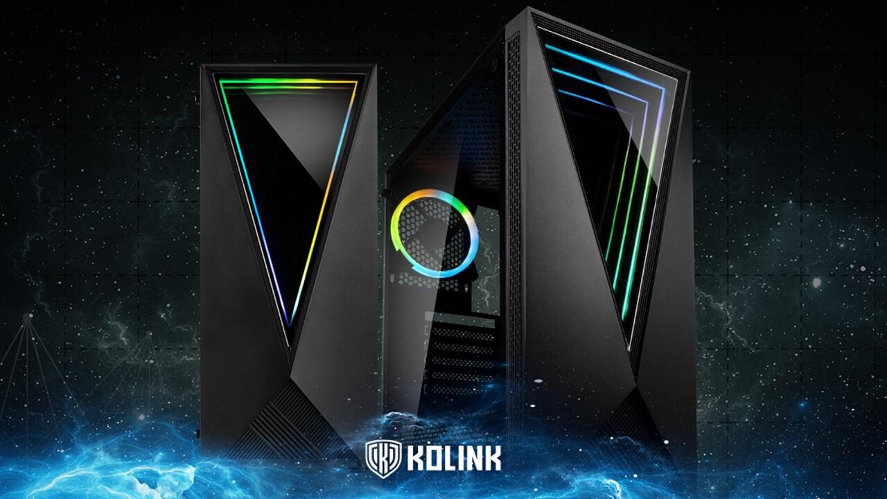 Kolink Void RGB und KLM-002: Spiegelgehäuse setzt LEDs für Unendlichkeitseffekt ein