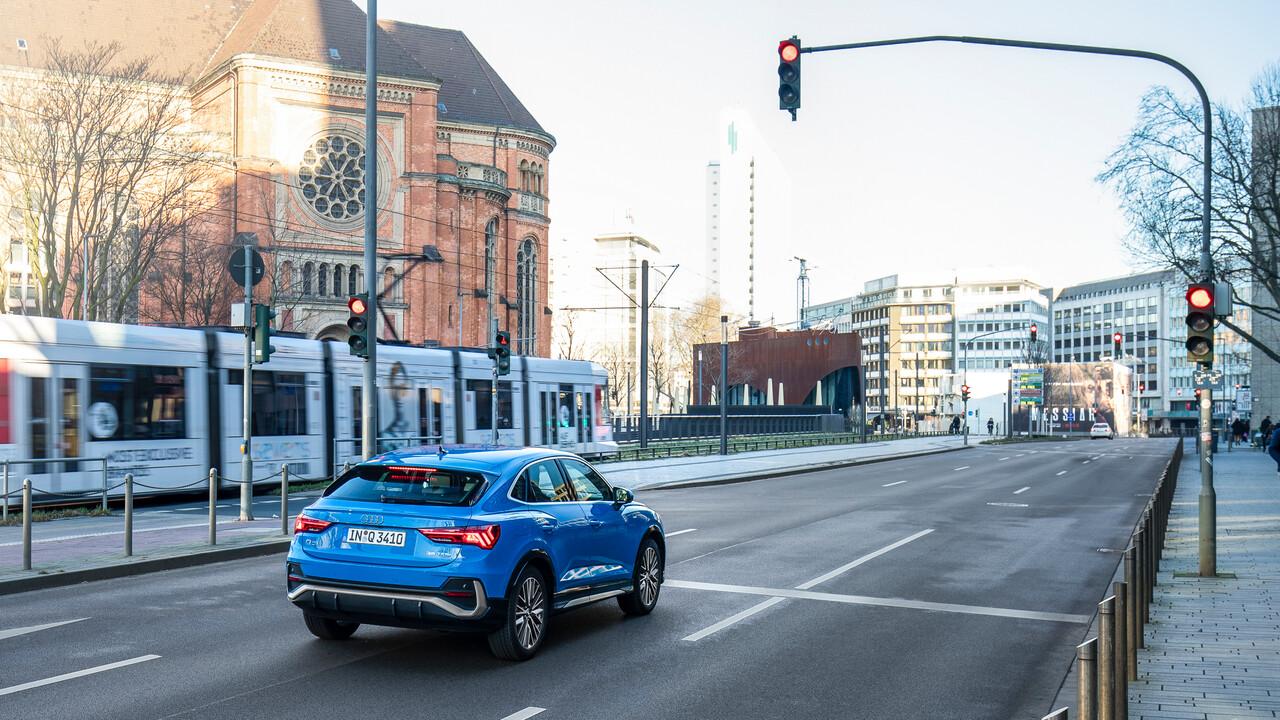 Grüne Welle: Audi vernetzt sich mit Ampeln in Düsseldorf