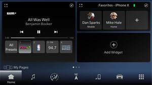 Infotainmentsystem: Uconnect 5 von Fiat Chrysler nutzt Android auf 12,3Zoll