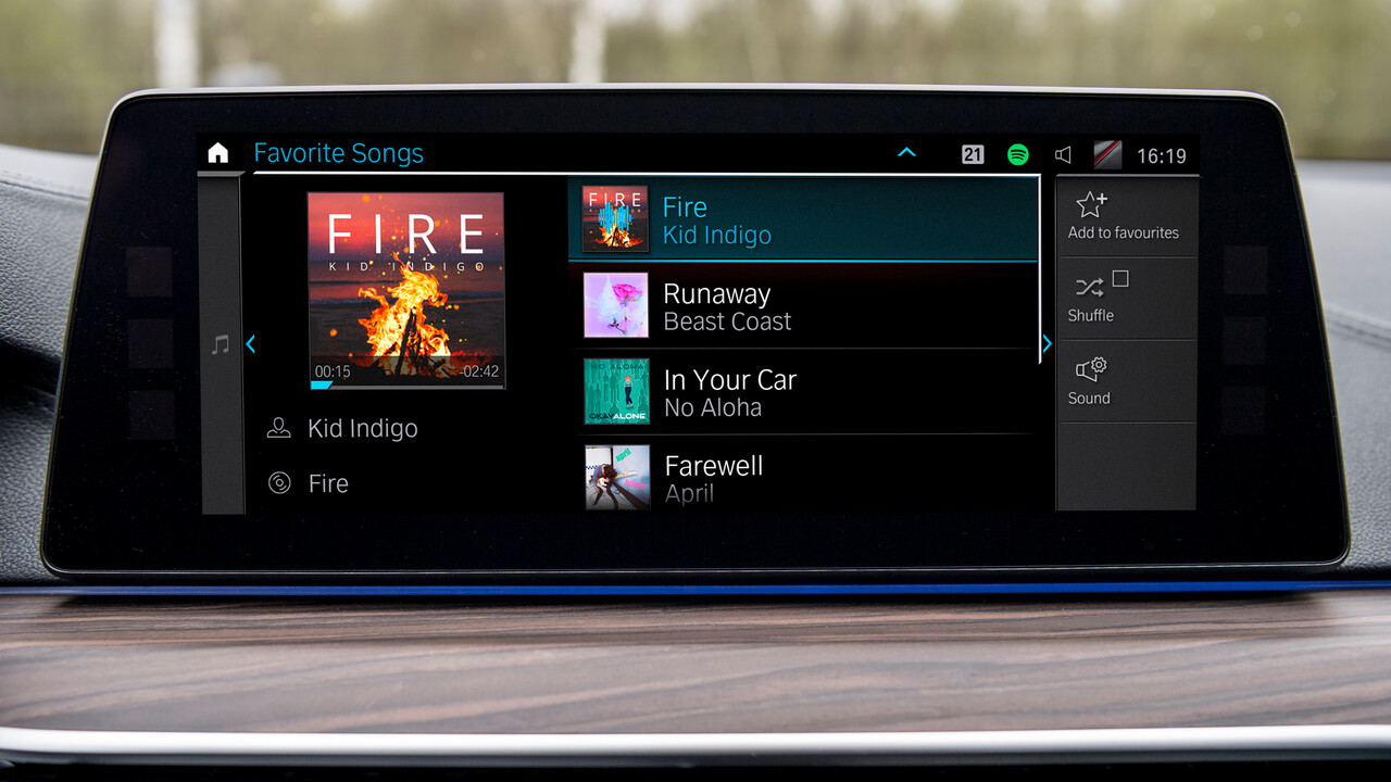 BMW Connected Music: Musikstreaming wird tiefer ins Fahrzeug integriert