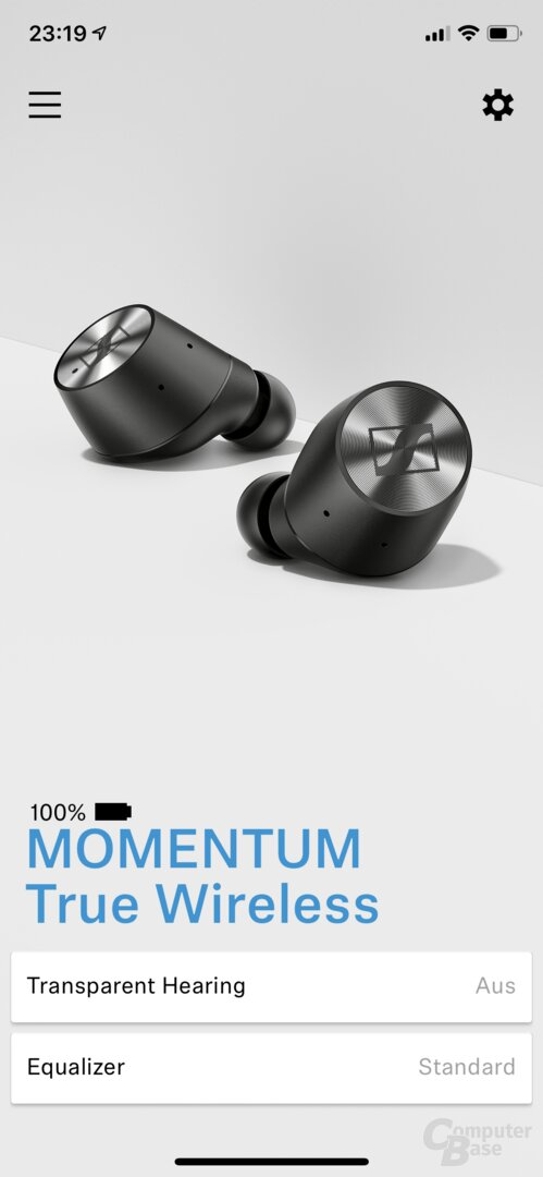 Sennheiser Smart-Control-App für Momentum True Wireless