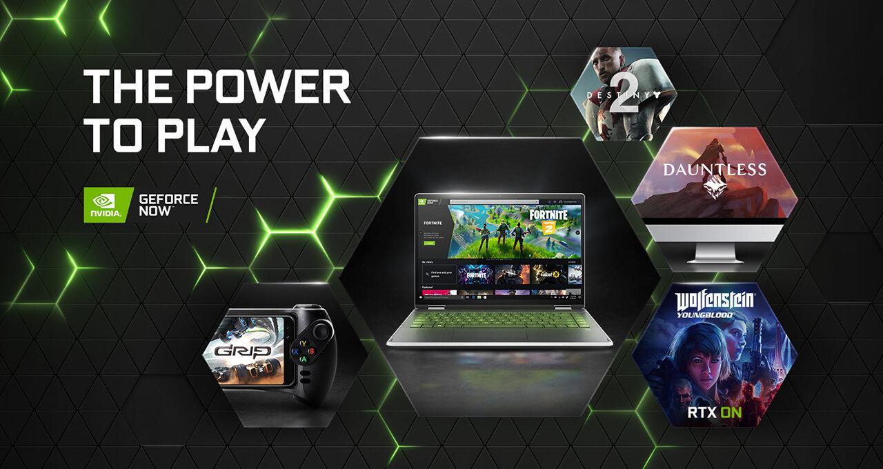 Plattformen und Features von GeForce Now