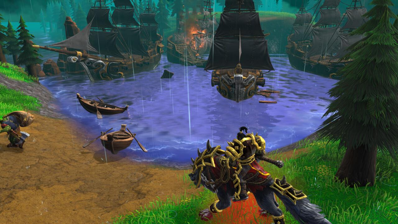 Warcraft 3 Reforged: Blizzard gehören die Rechte an Community-Karten