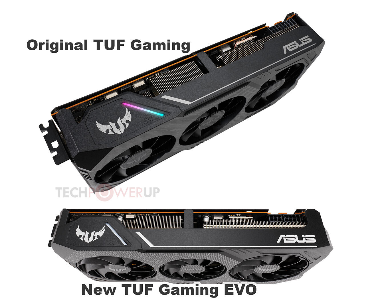 Asus TUF Gaming X3 – der Kühlkörper im Vergleich