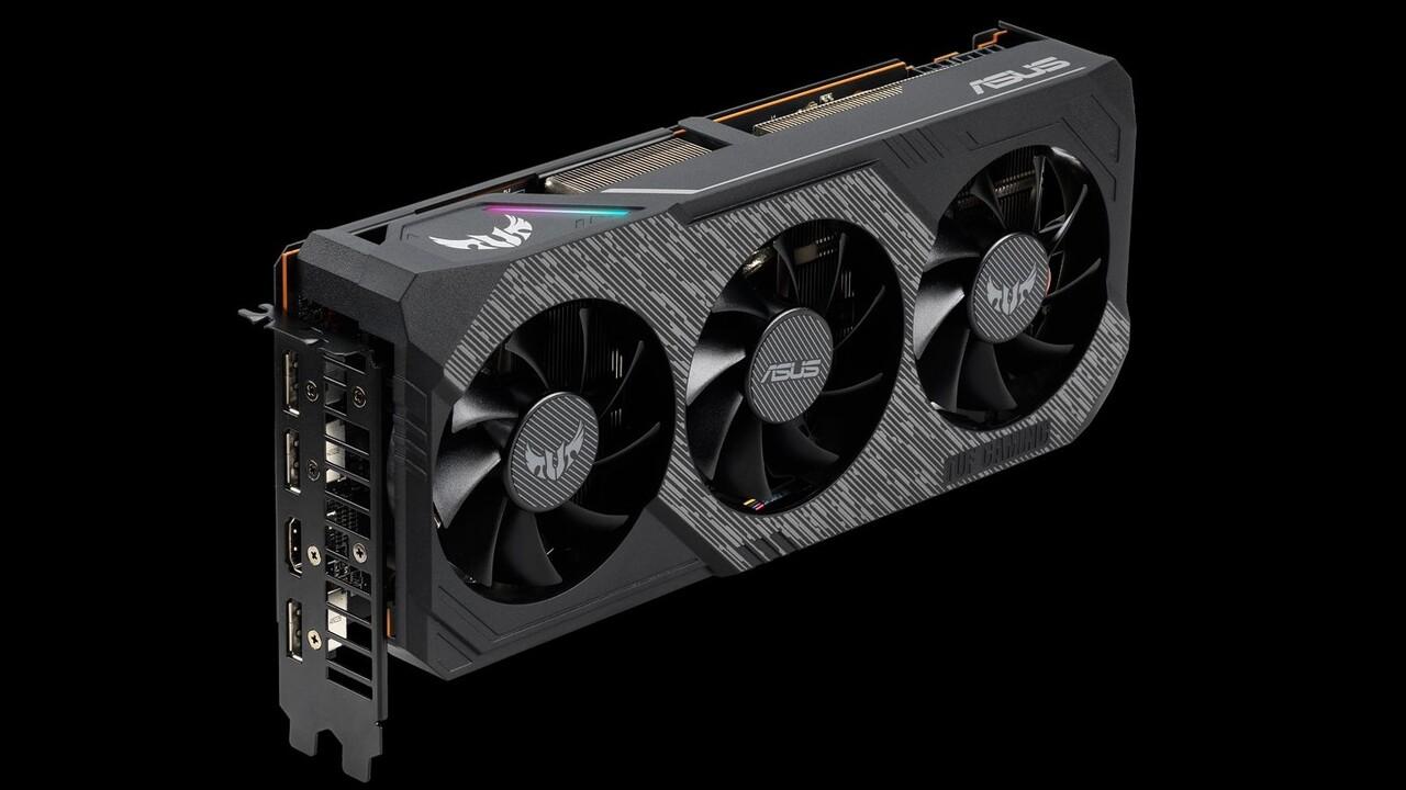 Radeon RX 5700 (XT) von Asus: TUF-Serie bekommt Kühler-Upgrade mit neuen Lüftern