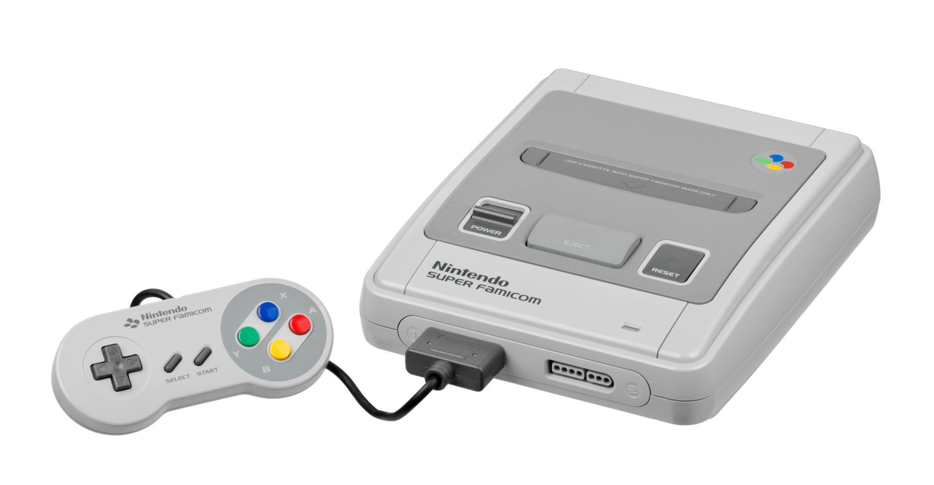 Sūpā Famikon (Super Famicom), SNES (USA) und Super Nintendo (Europa) im Vergleich