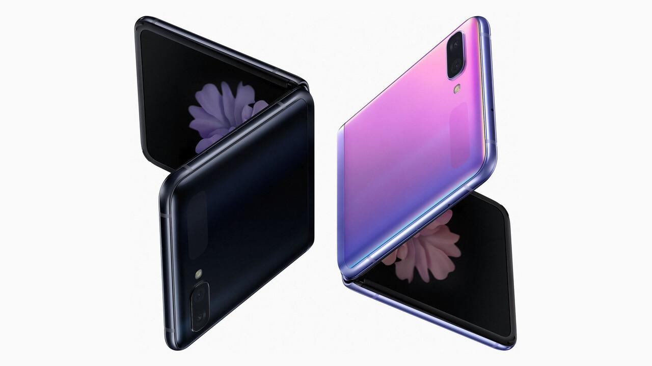 """Samsung Galaxy Z Flip: Erstes """"Hands-on"""" des Klapp-Smartphones durchgesickert"""