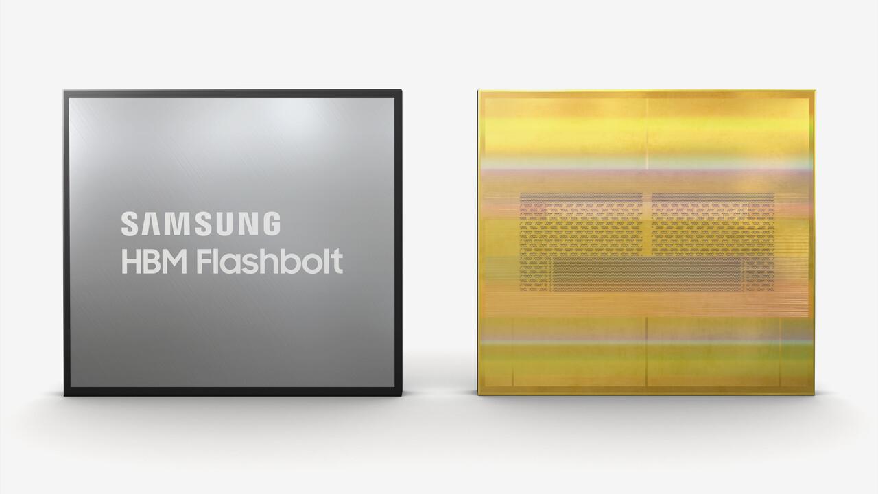 HBM2E: Auf dem Papier und von Samsung offiziell mit 3,2Gbps