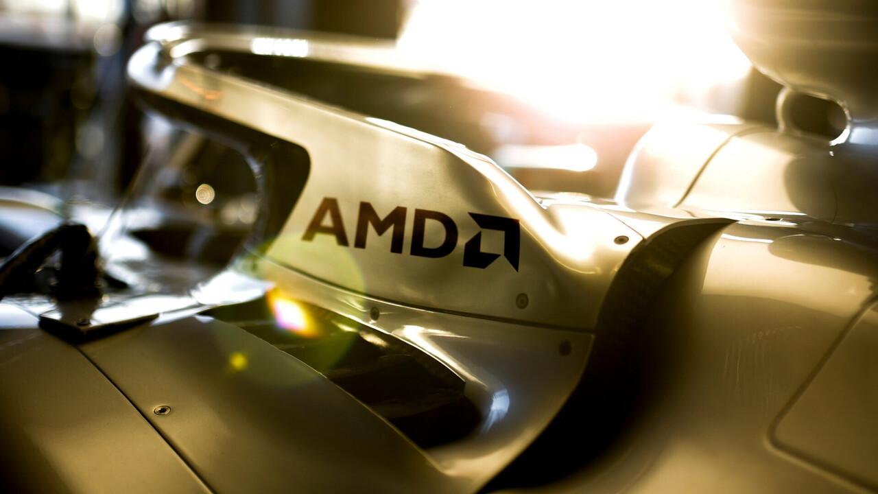 Sponsoring: AMD setzt zukünftig auf Mercedes in der Formel1