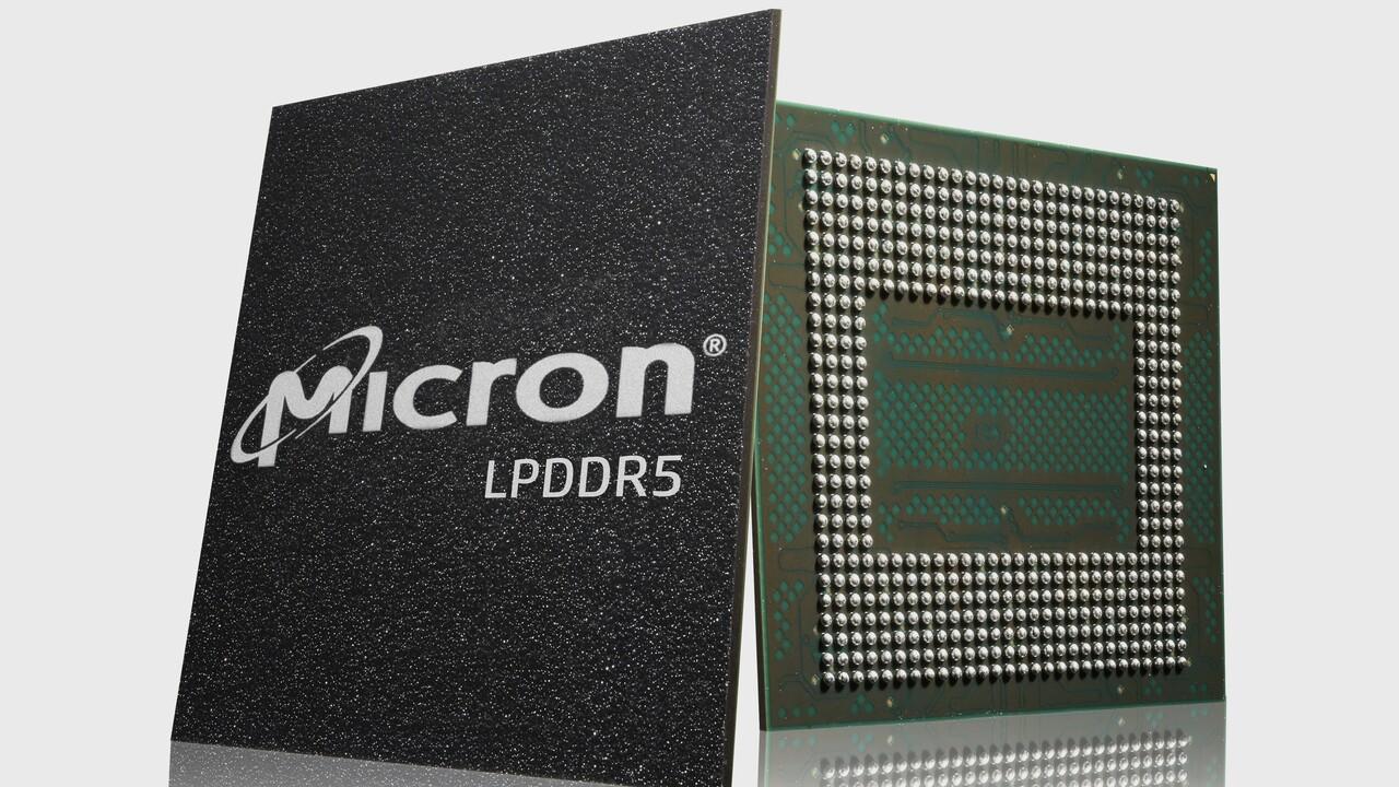 Schneller Arbeitsspeicher: Micron liefert ersten LPDDR5 für Smartphones aus