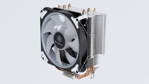 CPU-Kühler mit RGB-Lüfter: Silverstone AR12 RGB fügt sich hohen RAM-Modulen