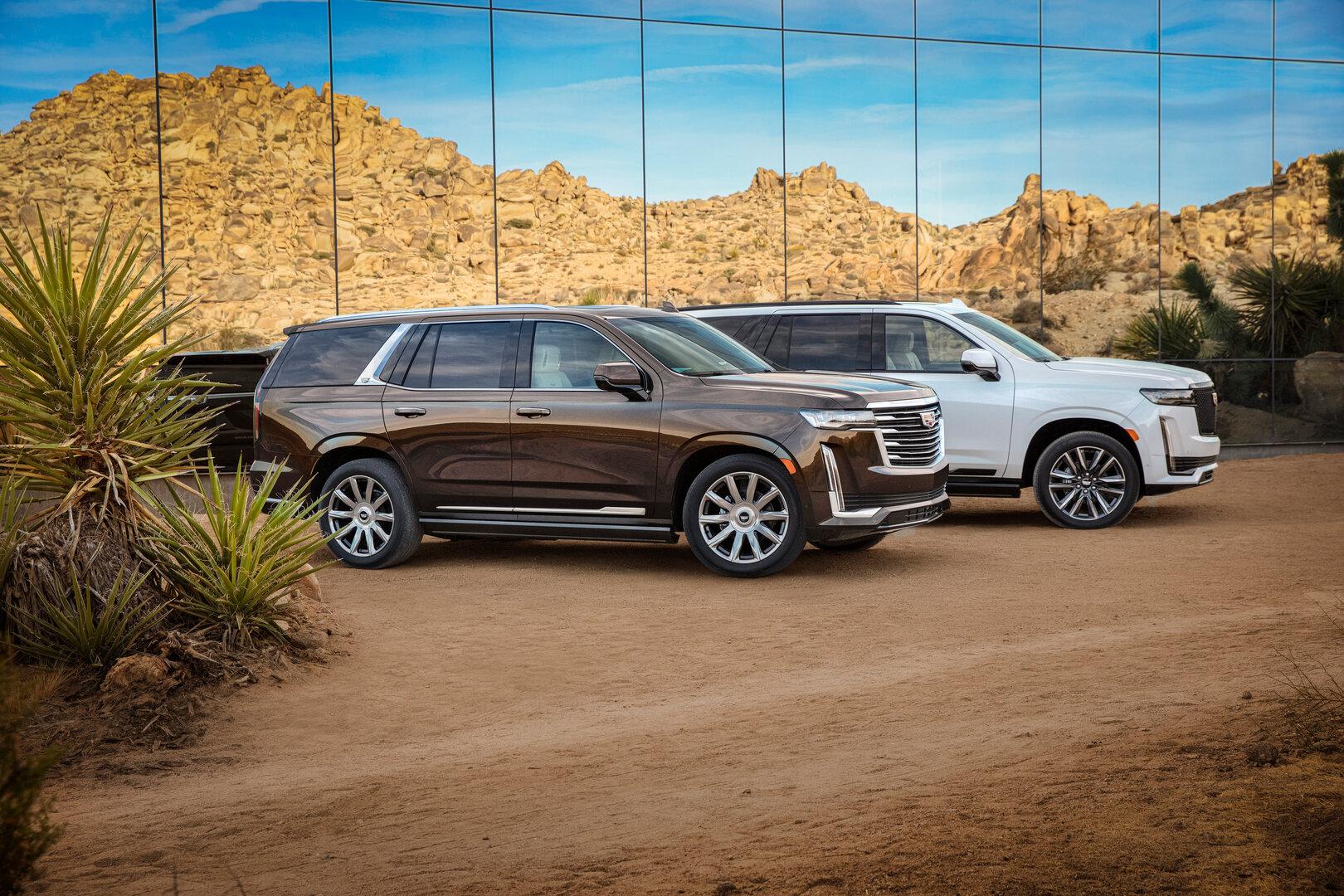 Cadillac Escalade des Jahrgangs 2021