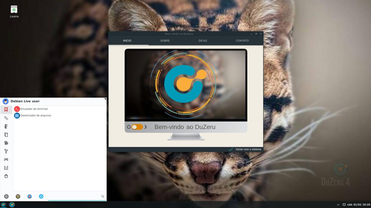 """DuZeru OS 4.1 (""""Maracajá""""): Leichtgewicht vom Zuckerhut auch für ältere Hardware"""