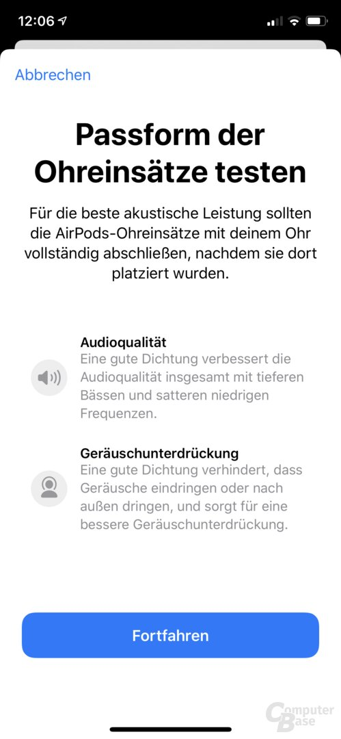 Apple AirPods Pro: Die Integration in iOS ist Apples Stärke