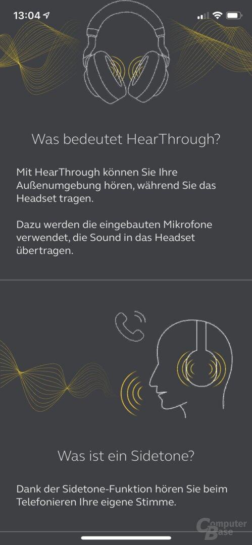 Jabra Elite 75t: Sehr gute App Sound+