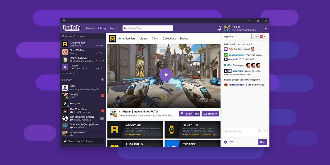 Twitch – Übersicht