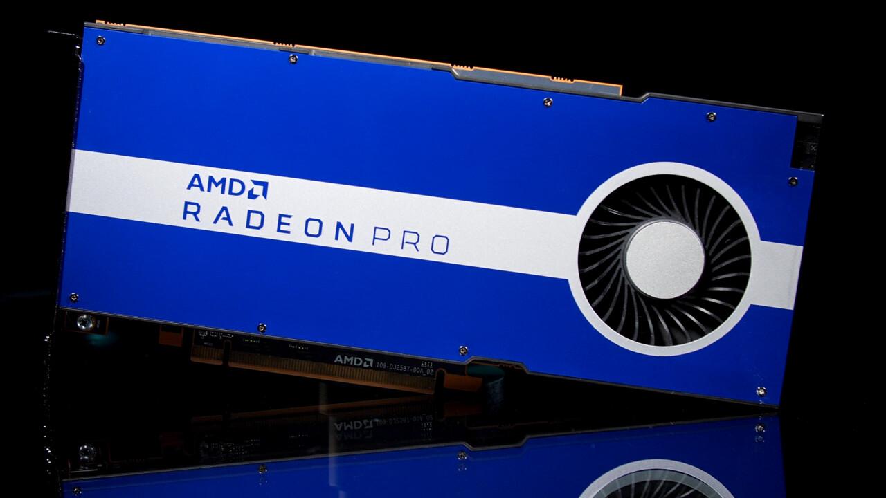 Radeon Pro W5500: Der kleine Navi 14 als professionelle Grafikkarte