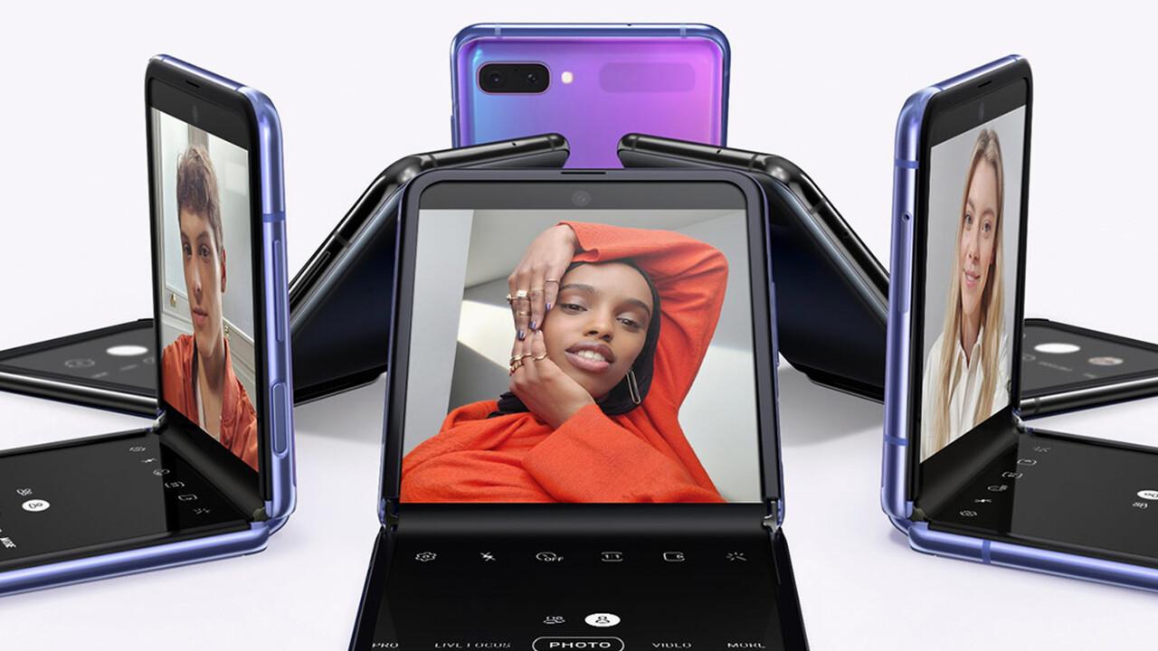 Samsung Galaxy Z Flip: Aus klein wird groß und Glas schützt das flexible Display