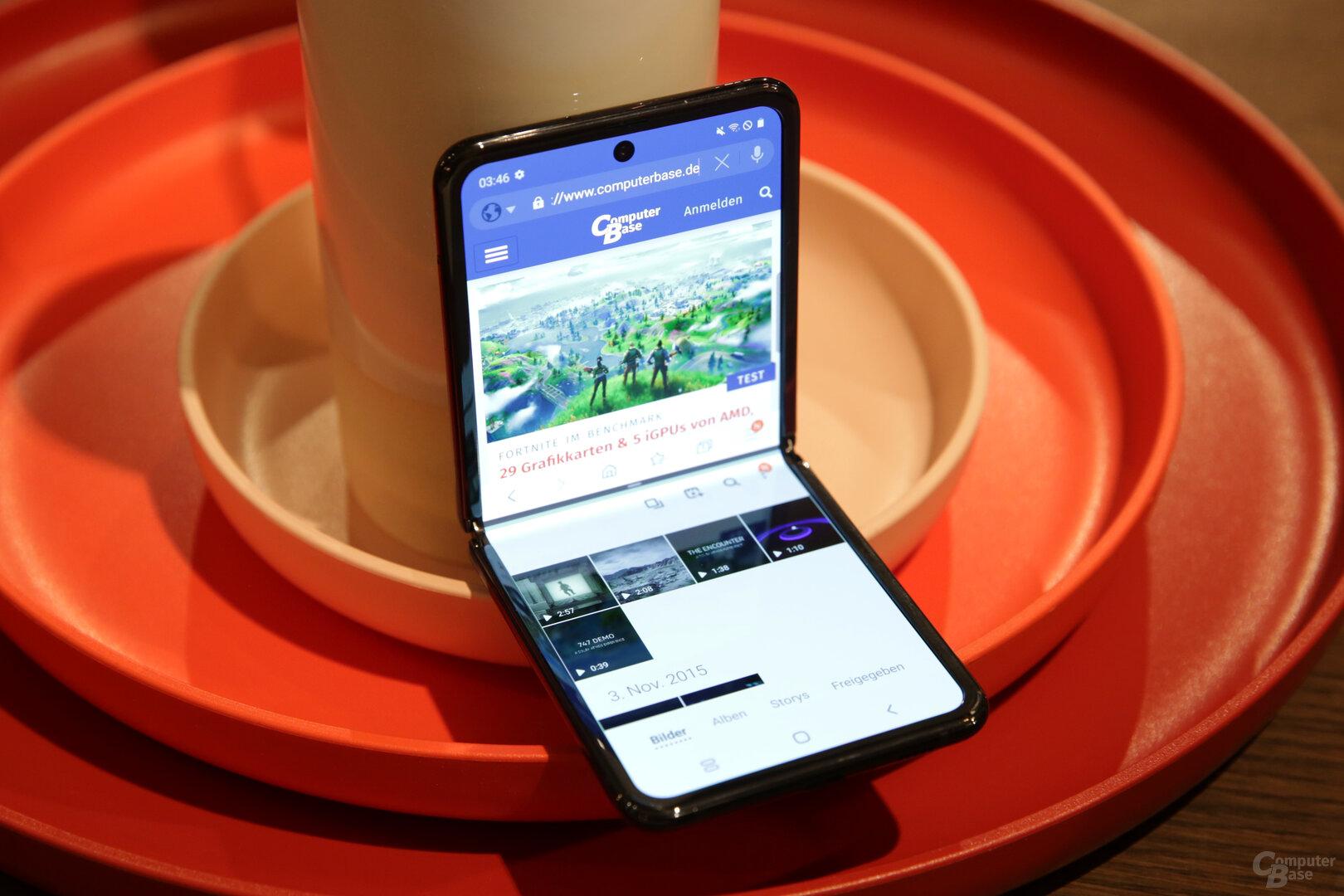 Samsung Galaxy Z Flip im Hands-On