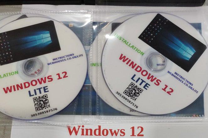 Das ist Windows 12 Lite ...