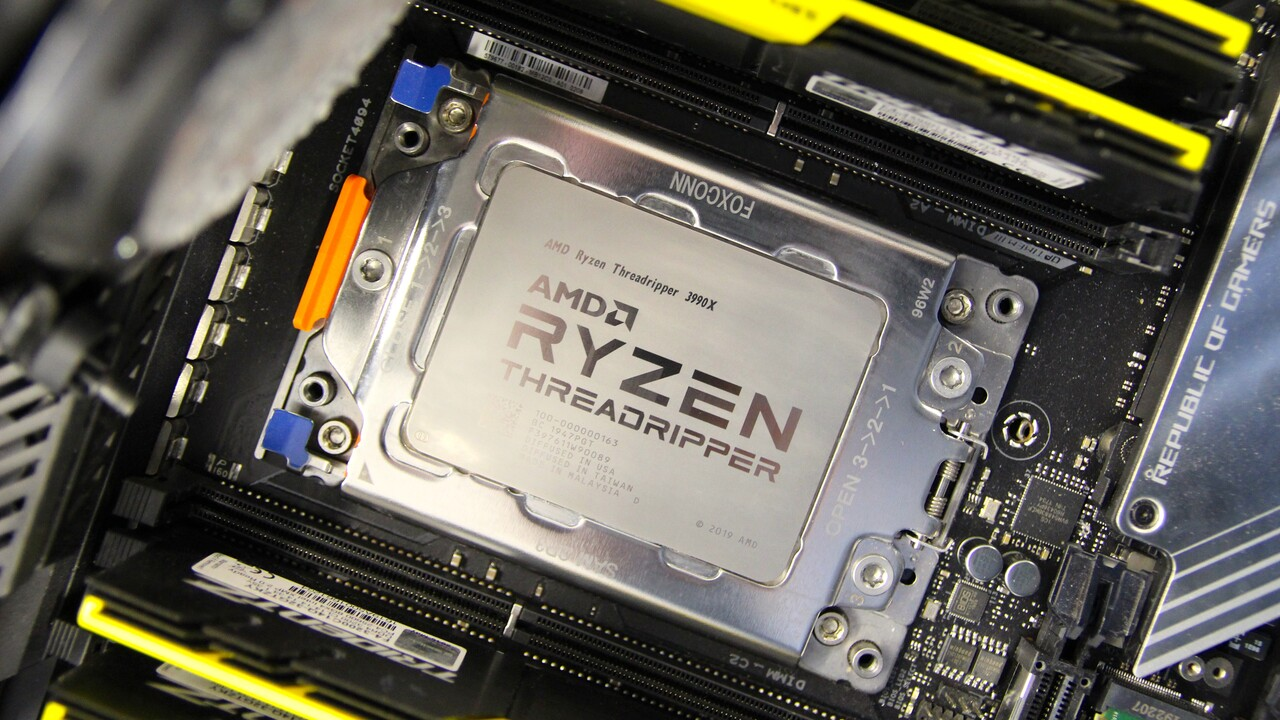 Ryzen Master v2.1.1.1472: AMD giúp công cụ ép xung phù hợp với 3990X