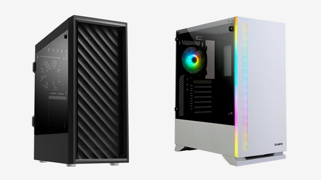 Budget-Gehäuse: Zalman T7 kommt mit Mesh, das S5 mit RGB und Glas