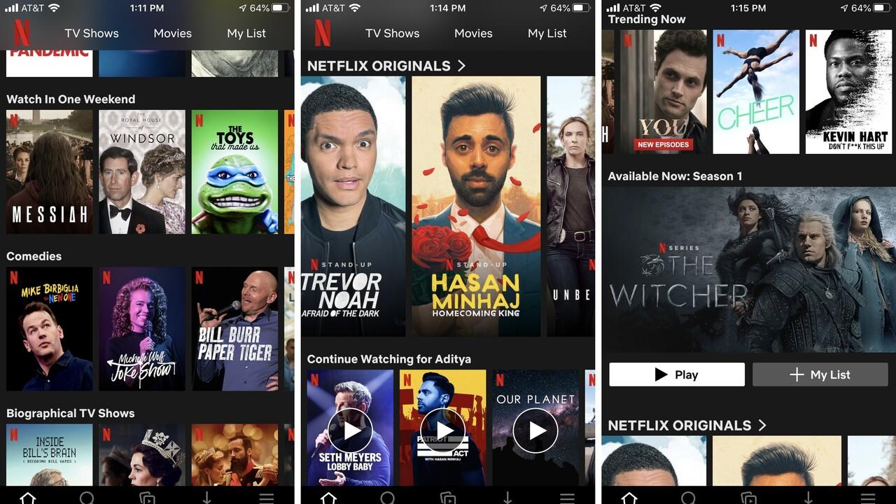 Codec: Netflix testet AVIF für kleinere und qualitativ bessere Bilder