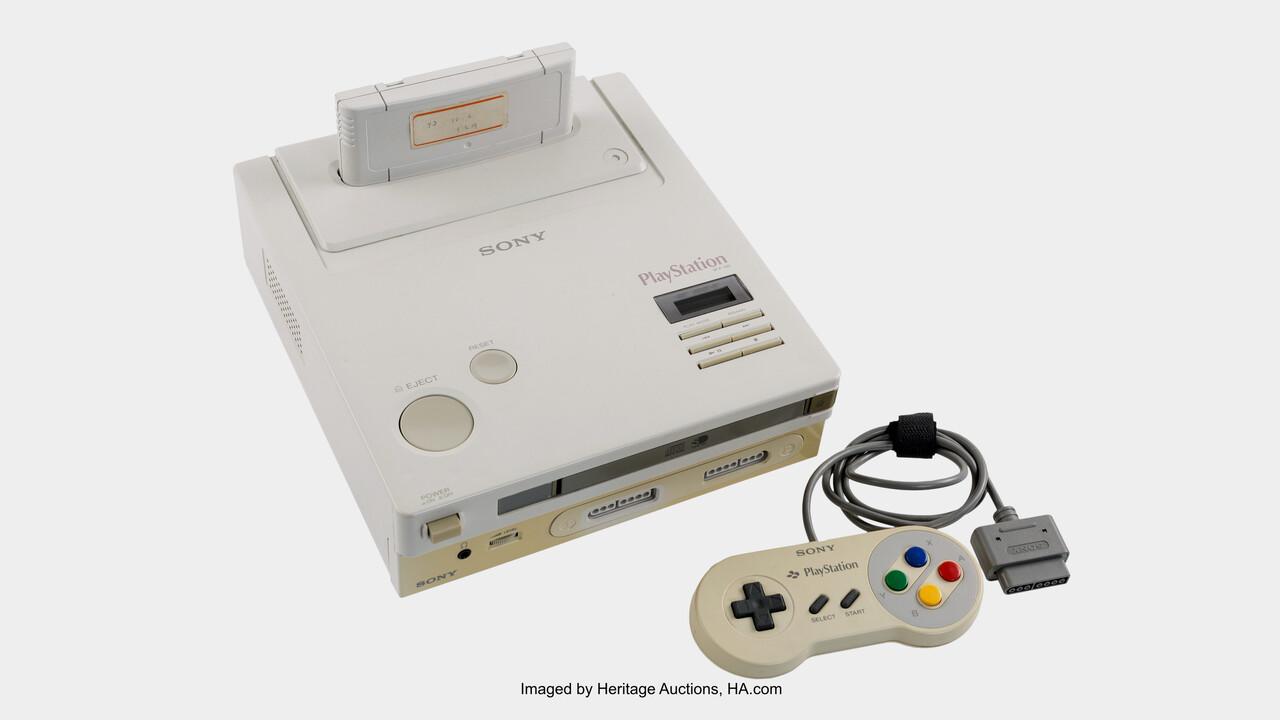 """Hybrid-Konsole: Letzte """"Nintendo PlayStation"""" wird versteigert"""