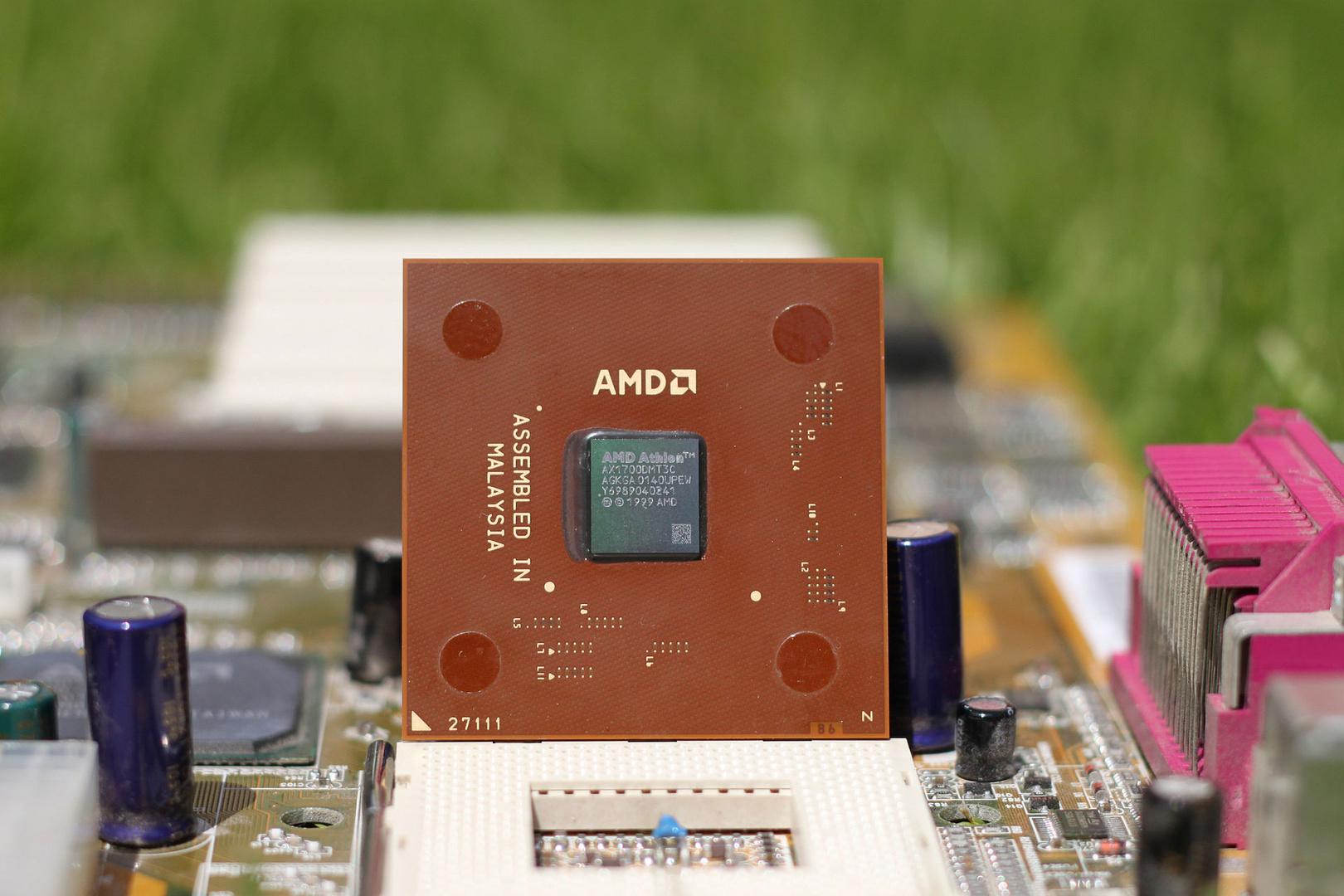 Half-Life 2 verlangte nach einer CPU mit mindestens 1,4 GHz wie diesem AMD Athlon XP 1700+