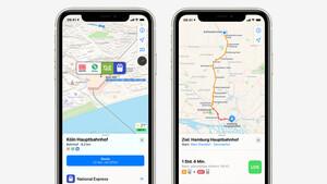 ÖPNV: Apple Karten zeigt mehr Nahverkehrsinformationen an