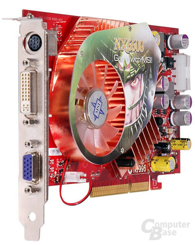 MSI NX6600-VTD128