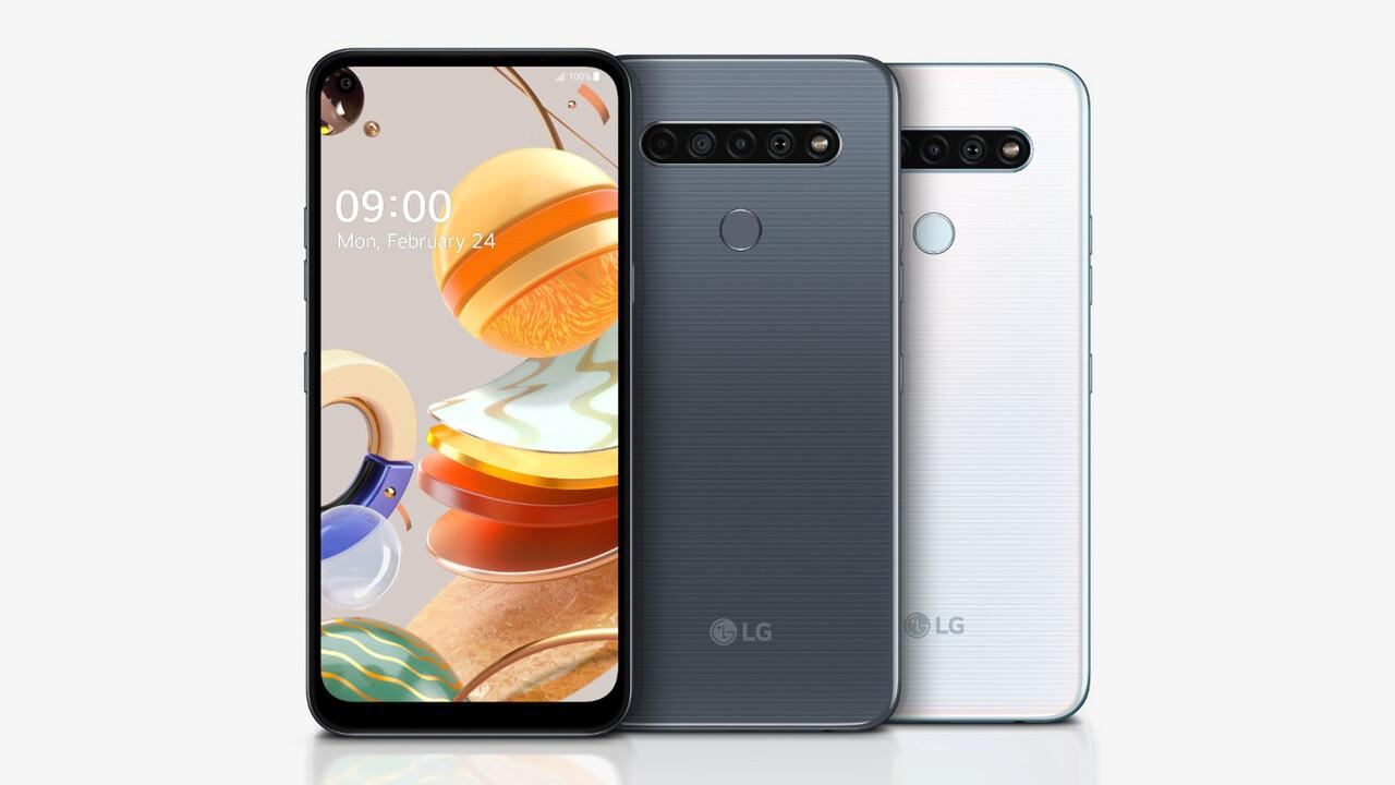Smartphone-Mittelklasse: LG K61, K51S und K41S haben durchweg vier Kameras