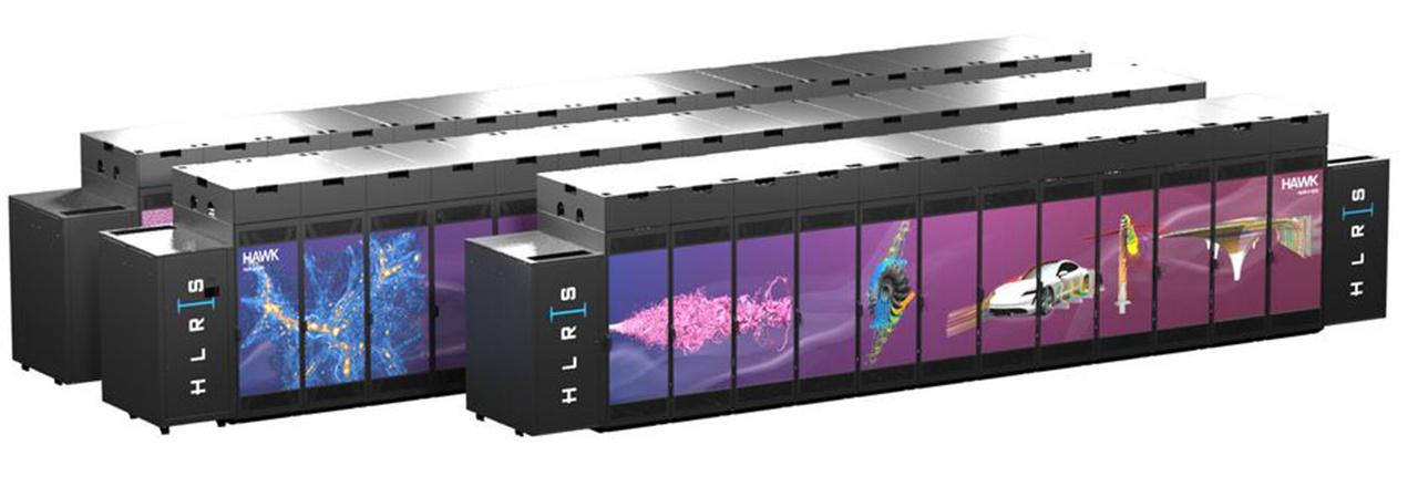 """Der HPE Apollo 9000 (""""Hawk"""") ist Deutschlands schnellster Supercomputer"""
