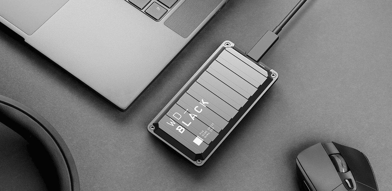 WD Black P50 Game Drive mit USB 3.2 Gen 2x2