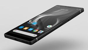 Karbon-Smartphone: Das 6,3mm dünne Carbon 1 MK II wiegt nur 125Gramm