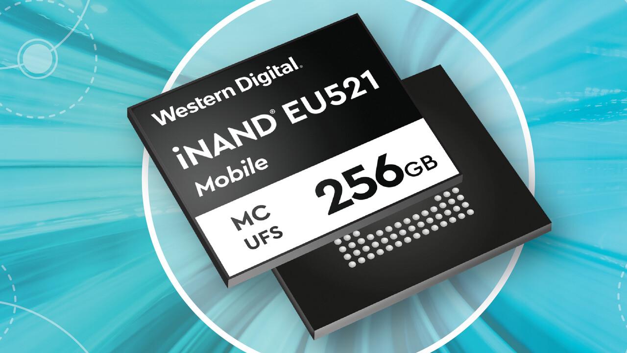 WD iNAND EU521: UFS 3.1 mit SLC-Turbo bereit für 5G-Smartphones