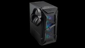 Asus TUF Gaming GT301: Gummiband und Wabenmuster prägen das Design