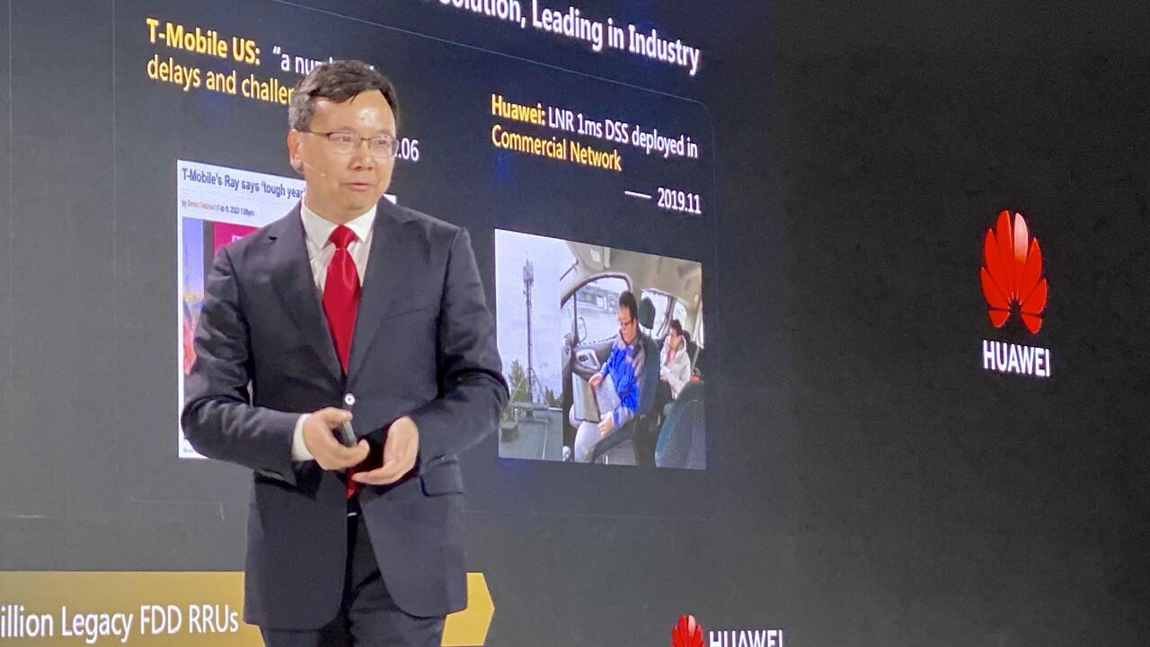 5G-Effizienz: Huawei ist bei geringerer Bandbreite trotzdem schneller