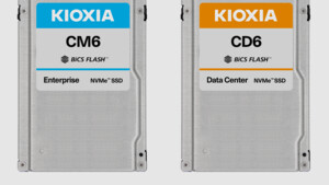 Kioxia: PCIe-4.0-SSDs mit bis zu 6,9 GB/s und 30 TB starten