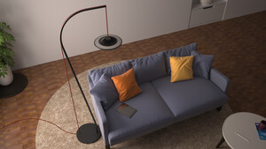 Luke Roberts Model L: Smarte RGB-Stehlampe mit 330 gerichteten LEDs