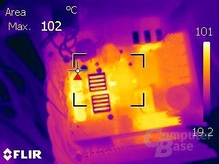 Kolink Enclave 500W – Volllast ohne aktive Kühlung