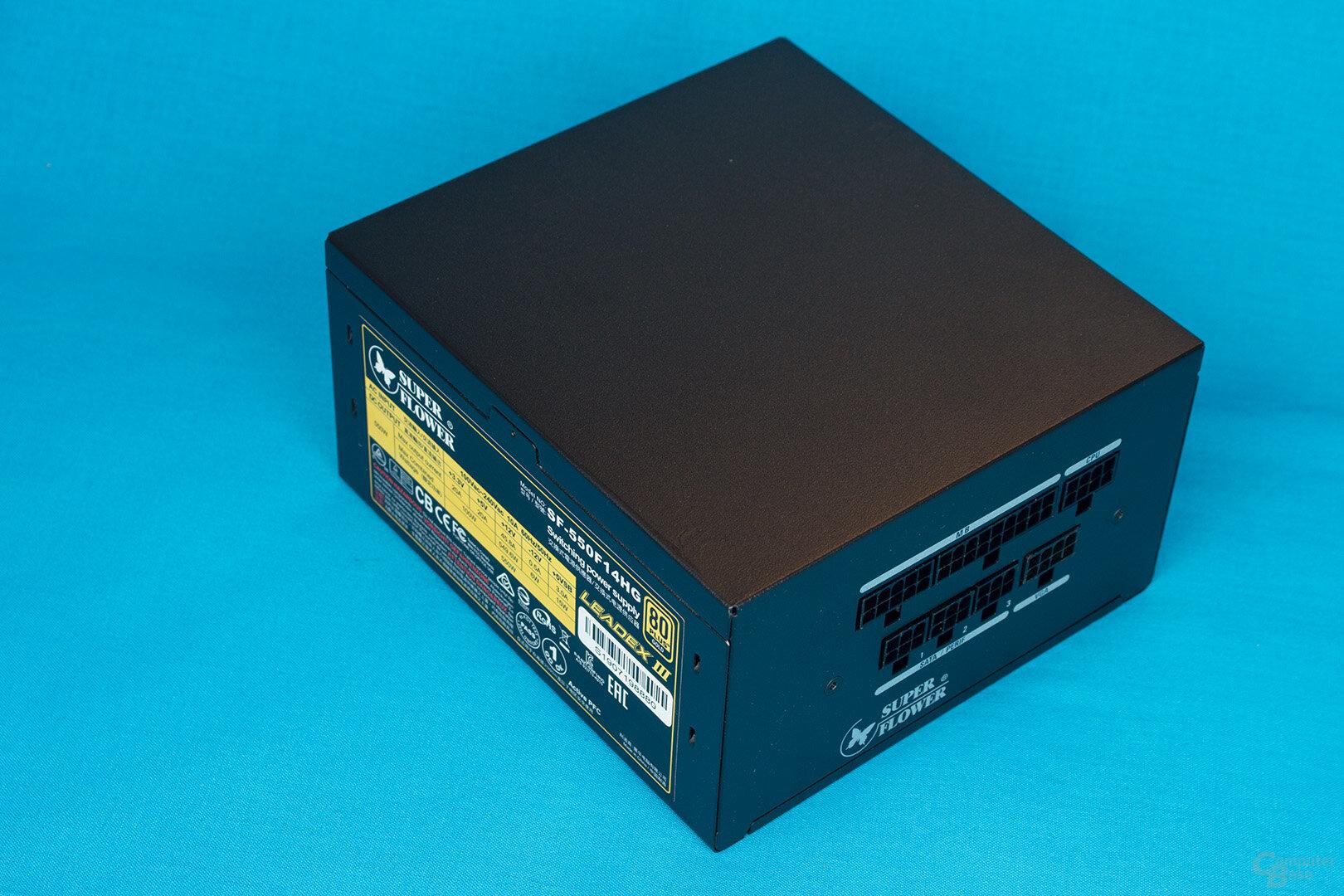 Super Flower Leadex III Gold 550W