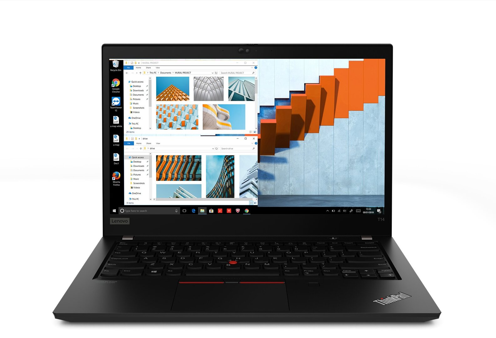 ThinkPad T14: Mit AMD Ryzen 4000 Pro und Intel 10. Generation